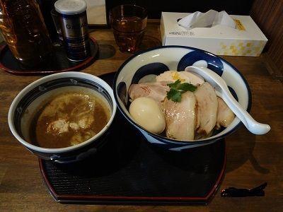 「とろ炊きつけ麺」@長野らぁ麺 さくら木の写真