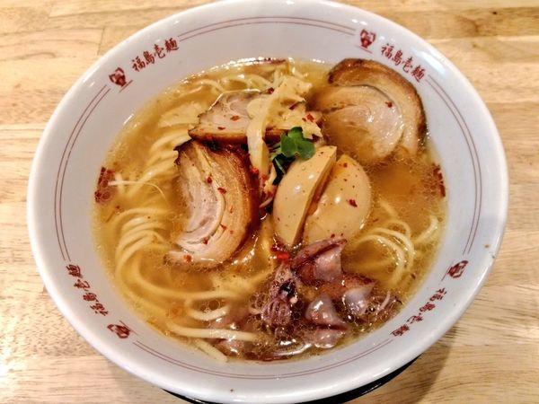 「海鮮塩ラーメンDX」@福島壱麺の写真