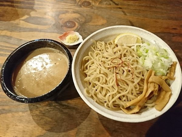 「つけ麺大盛」@西中島 光龍益の写真