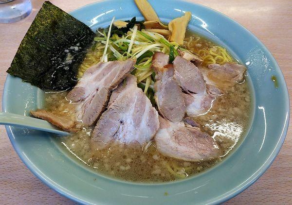 「ネギチャーシュー麺」@ラーメンショップ 三芳店の写真