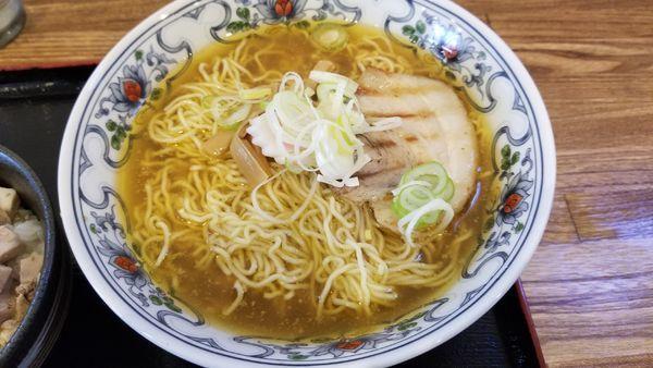 「中華蕎麦 超コッテリ 大盛り」@丸山中華蕎麦店の写真