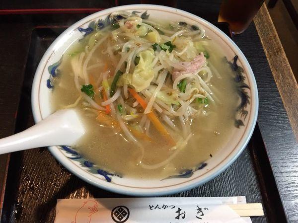 「タンメン 650円」@とんかつ おぎの写真