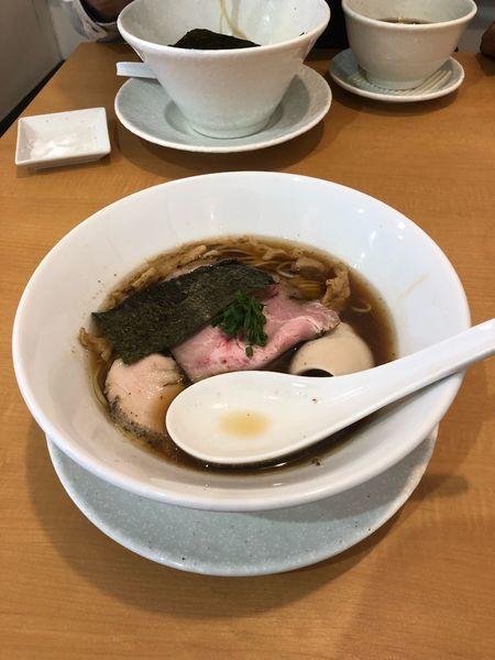 「味玉醤油」@麺屋BISQの写真