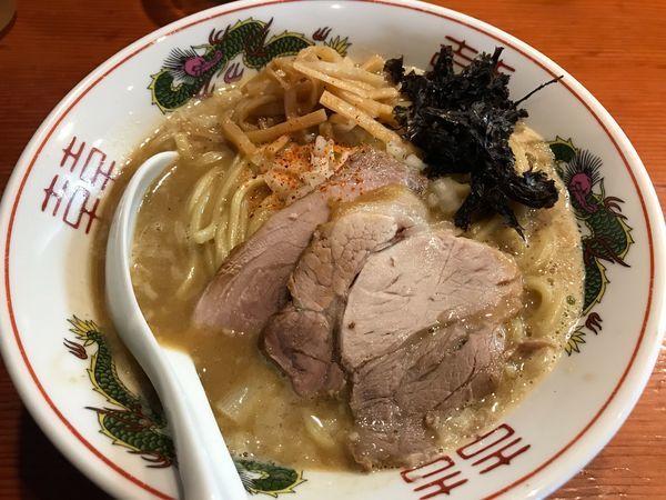 「中濃背脂煮干みそラーメン  850円」@麺処 ほん田の写真