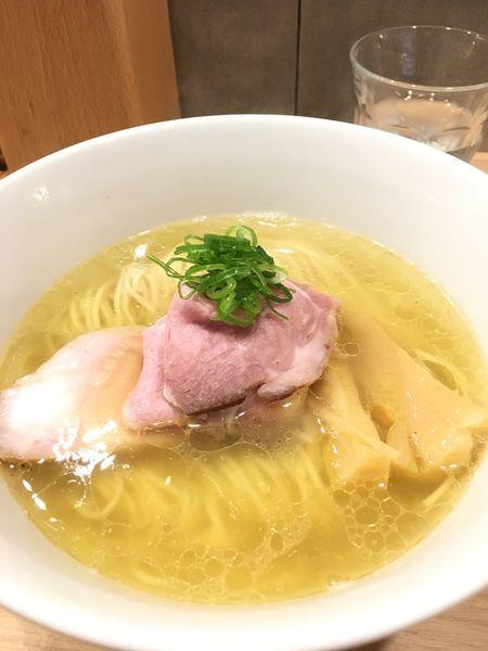 「塩ラーメン」@らーめんMAIKAGURAの写真