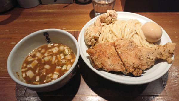 「濃厚二天つけ麺(大盛) 1150円」@麺屋武蔵 二天の写真