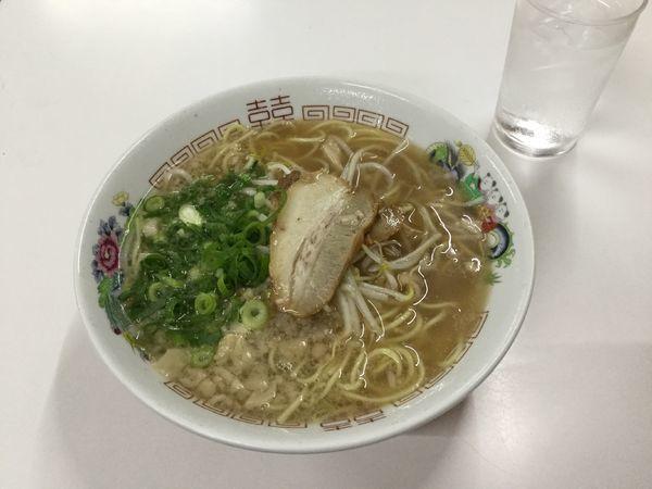 「中華そば(¥600)」@寿栄広食堂の写真