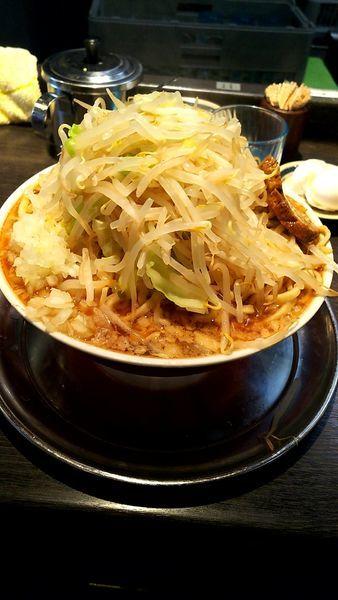 「中ラーメン640円麺200g増量100円ゆで卵無料」@麺屋 婆娑羅の写真