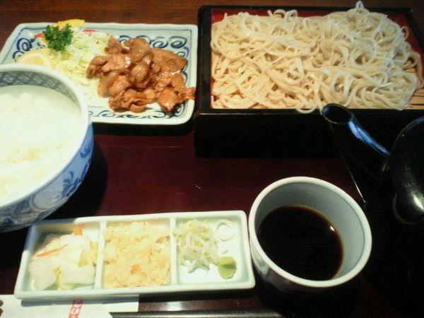「焼肉定食 900円+税」@おか免やの写真