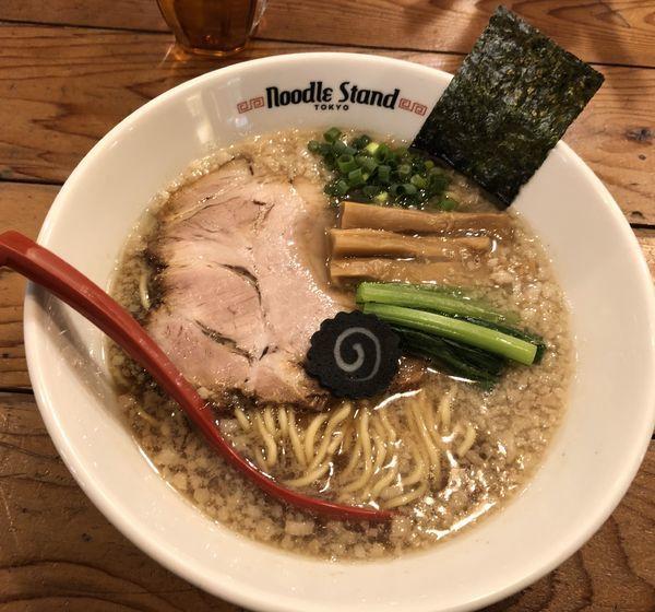 「背脂煮干ラーメン」@Noodle Stand Tokyoの写真