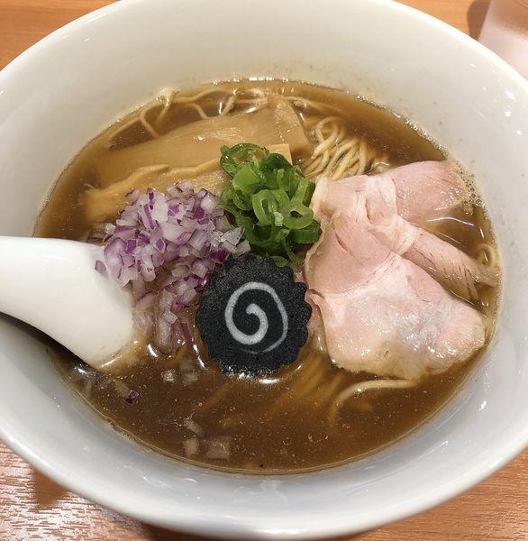 「のどぐろそば」@らぁ麺 はやし田 池袋店の写真