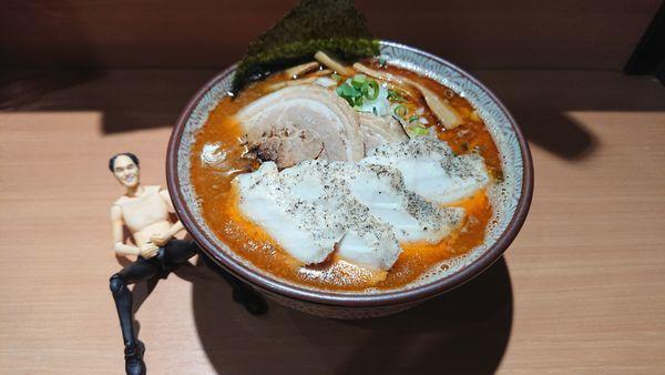 「海老熟成ラーメン830円+他」@麺や 虎ノ道の写真
