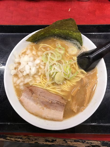 「らーめん 780円」@つけ麺屋 のぶなが 北口店の写真