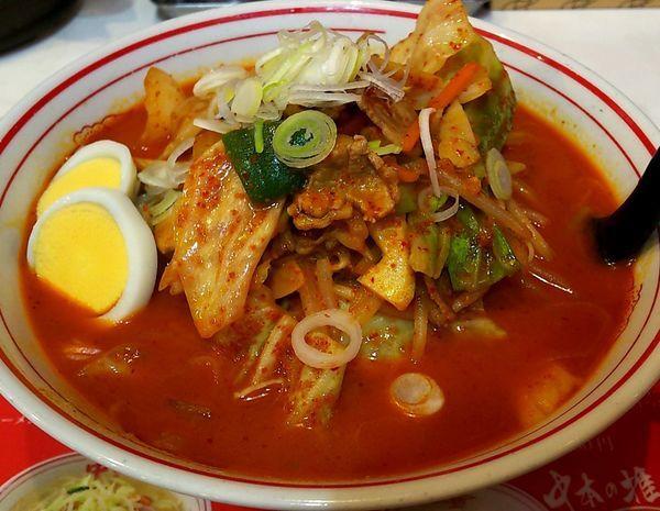 「五目味噌タンメン 野菜大盛り」@蒙古タンメン 中本 大宮店の写真