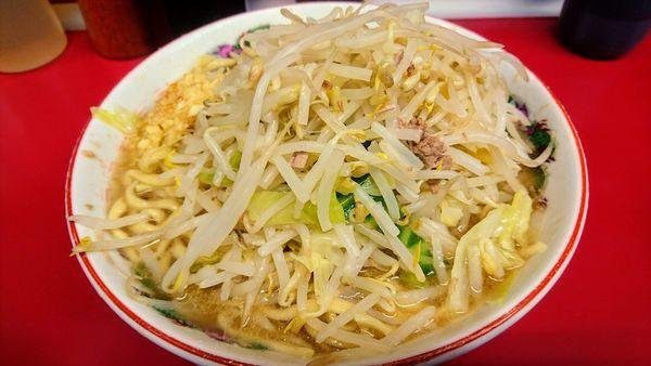 「らーめん(麺硬め・ニンニク)」@ラーメン二郎 湘南藤沢店の写真