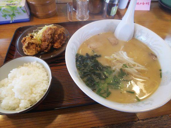 「ピッコロ定食みそ880円」@ラーメンハウスピッコロ 備前店の写真