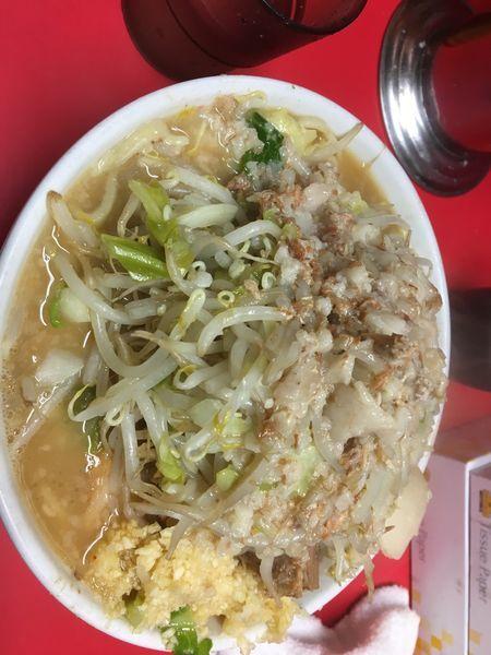 「ラーメン小豚全マシ(790円)」@ラーメン二郎 仙台店の写真