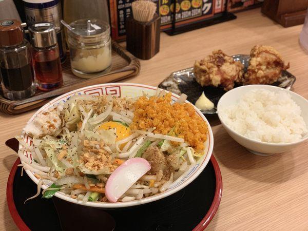 「汁なしタンメン」@タンメン食堂 大ちゃんの写真