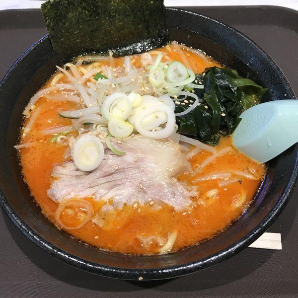 「えび味噌らーめん(¥900)」@さつまっこ マチノマ大森店の写真
