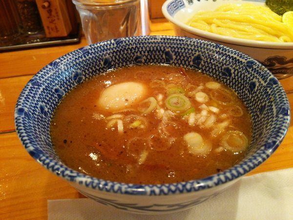 「濃厚味玉つけ麺 980円」@つじ田 飯田橋店の写真
