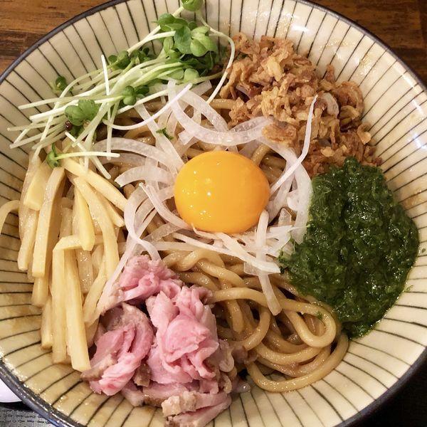 「JJモッシュそば」@仮麺中(ぬちぐすい)の写真