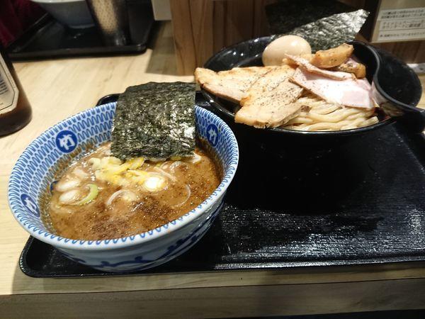 「特製つけ麺」@麺屋 たけ井 阪急梅田店の写真