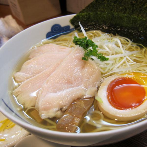 「鶏そば(白) 950円」@猪一の写真