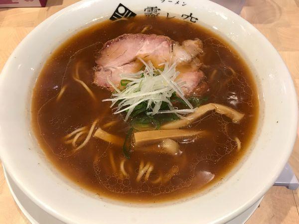 「牡蠣煮干し麺 780円」@ラーメン 霽レ空 HARESORAの写真
