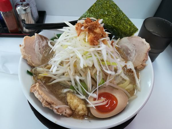 「12/09豚葱力麺1,000円」@麺屋 小林の写真