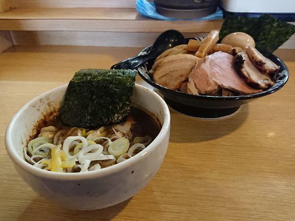 「特製つけ麺」@麺屋 たけ井 本店の写真