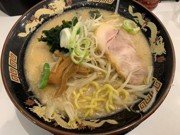 「札幌味噌らーめん」@北海道らーめん みそ熊 新橋店の写真