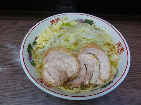 「小ラーメン720円  野菜少な目 ニンニク」@ラーメン二郎 横浜関内店の写真