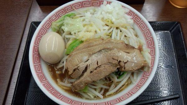 「うつつ乃庄ラーメン780円」@中央道上り内津峠PAの写真