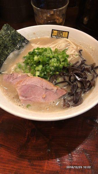 「博多そば」@濃菜麺 井の庄の写真