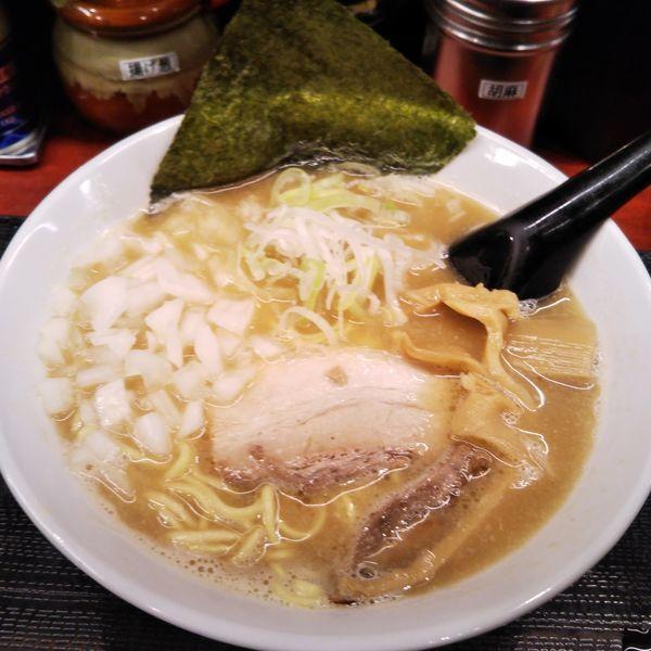 「らーめん」@つけ麺屋 のぶなが 北口店の写真