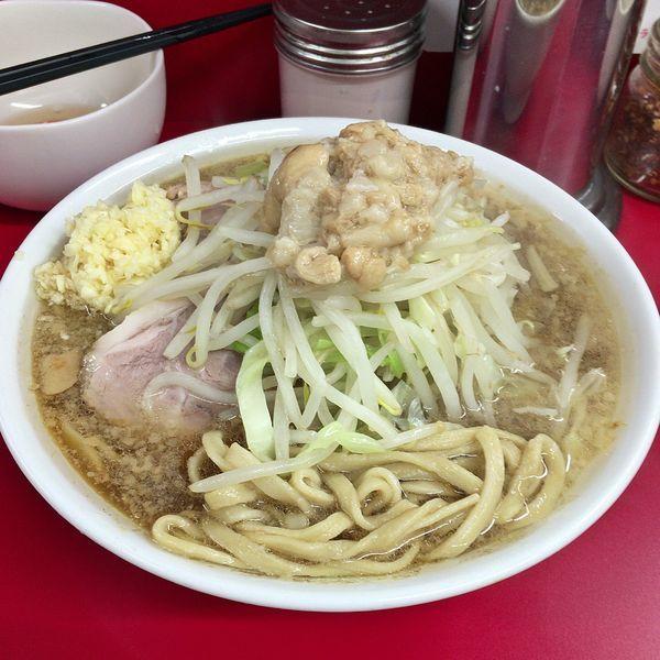 「小(麺少なめ)+生卵¥750」@ラーメン二郎 神田神保町店の写真