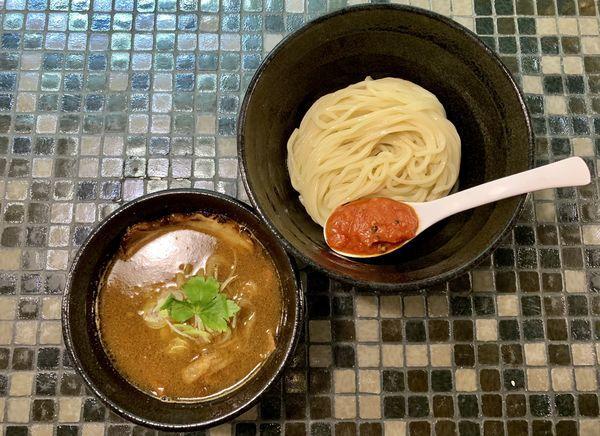 「牛肉汁つけ麺」@951の写真