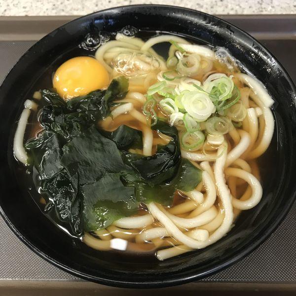 「月見(¥360)」@名代 富士そば 赤坂見附店の写真