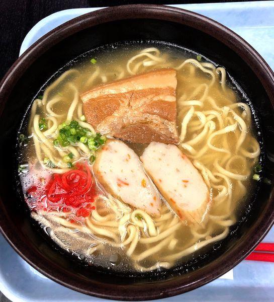 「沖縄そば」@空港食堂の写真