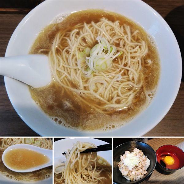 「中華そば(小)+スープ増し=700円」@自家製麺 伊藤 浅草店の写真