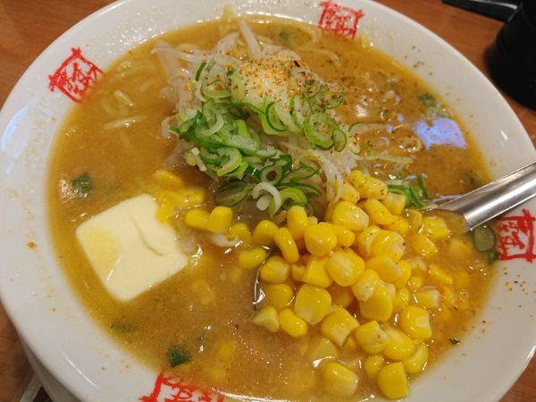 「みそバターコーンラーメン」@おおぎやラーメン 高崎問屋町店の写真