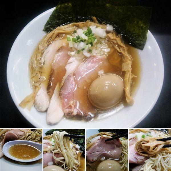 「特製中華そば(塩) 1000円」@麺処 晴の写真