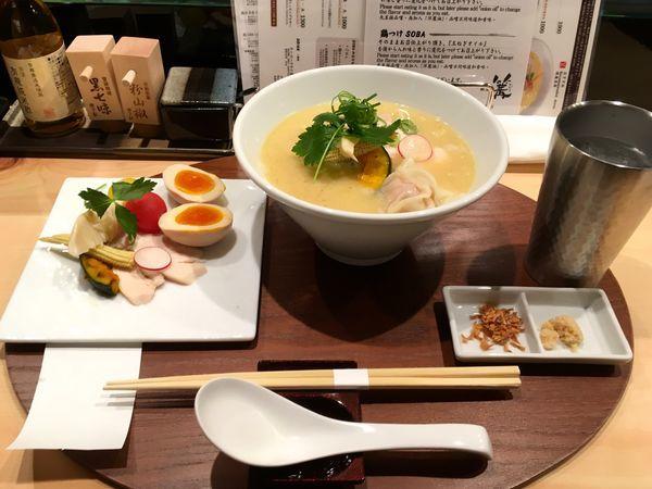 「特製鶏白湯SOBA」@銀座 篝 本店の写真