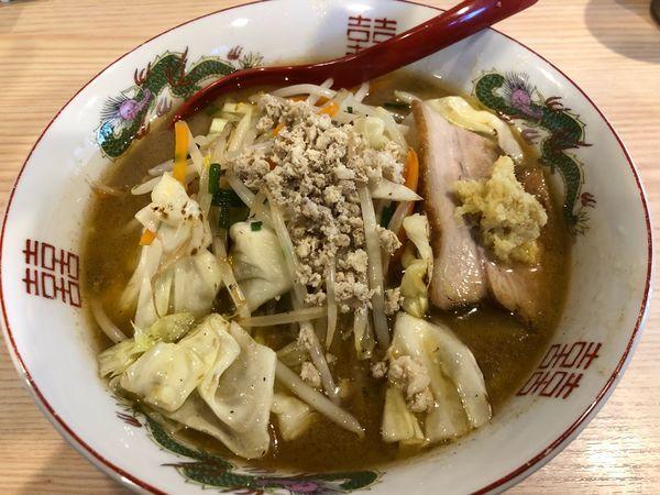 「【限定】味噌たんめん」@拉麺 大公の写真