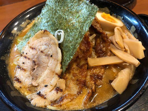 「特製百年味噌ラーメン」@マルキン本舗 春日部店の写真