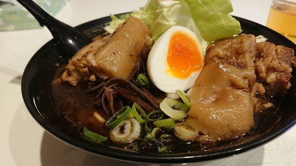 「熊本角煮ラーメン」@熊本ラーメン 麺王の写真