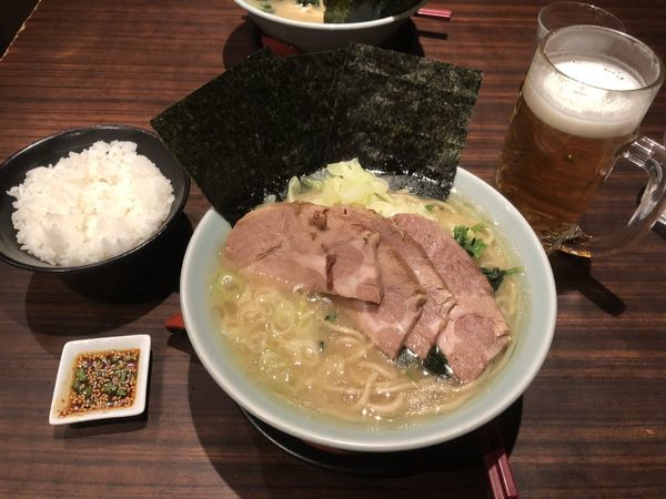 「チャーシュー麺」@山下醤造の写真