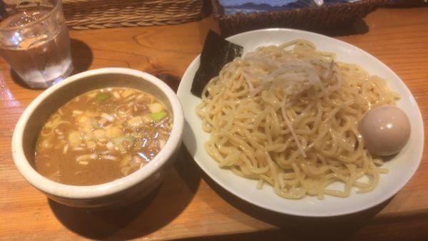 「味玉つけめん中盛:870円」@らーめん・つけ麺 我家の写真
