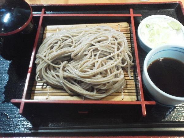「もりそば 320円」@そばいち二八 IKE麺KITCHEN池袋店の写真