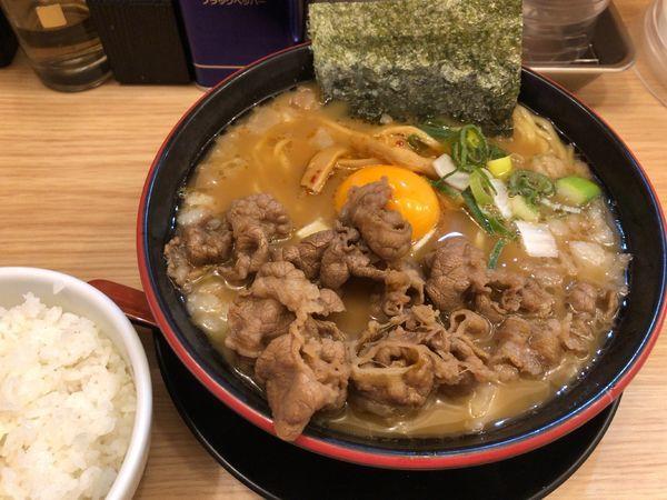 「スタミナ中華ソバ(醤油、白飯付き)」@スタミナ中華ソバ とみ坂の写真